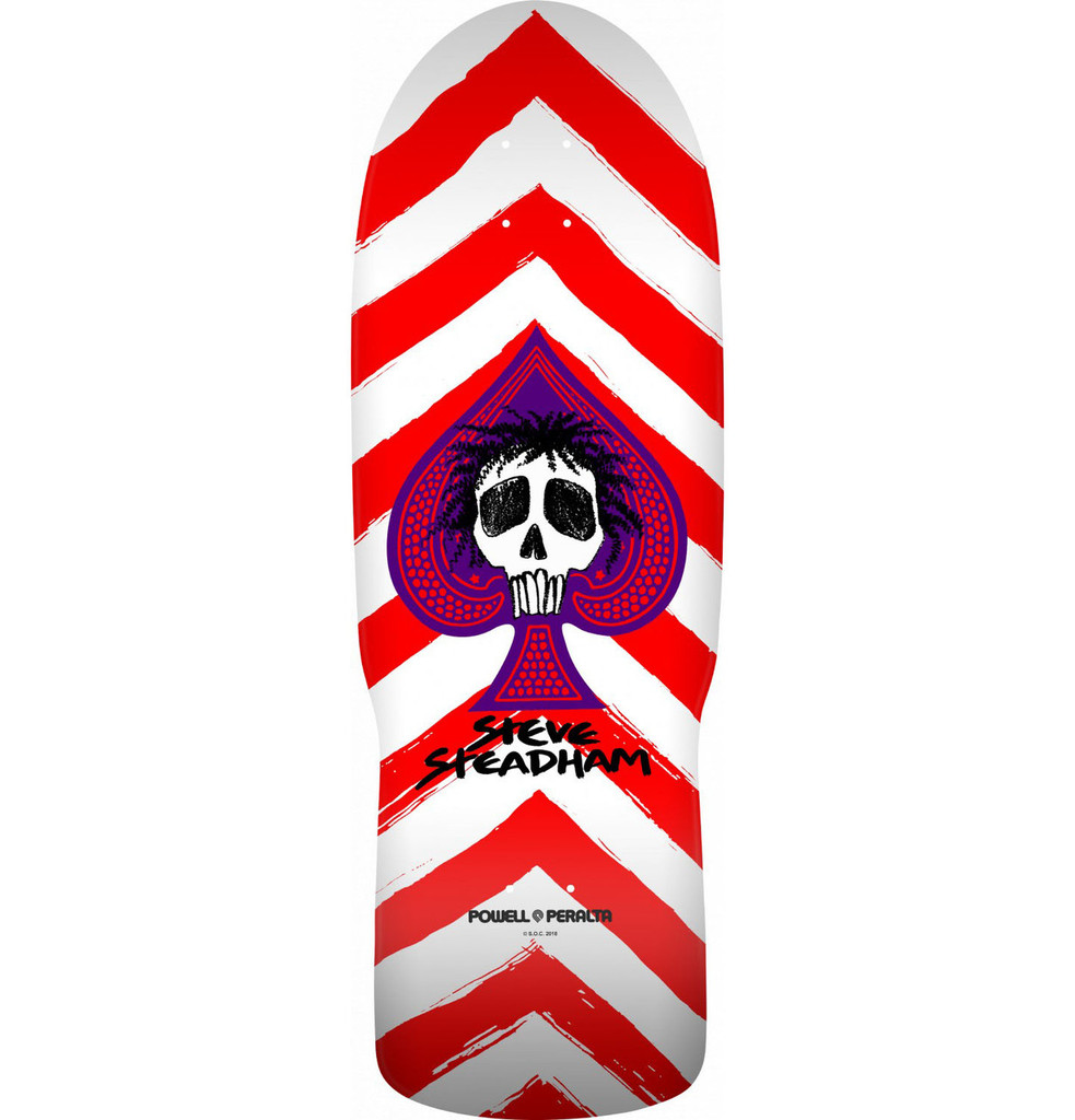 Powell Peralta Old School Steadham Skull & Spade Re-Issue Deck
