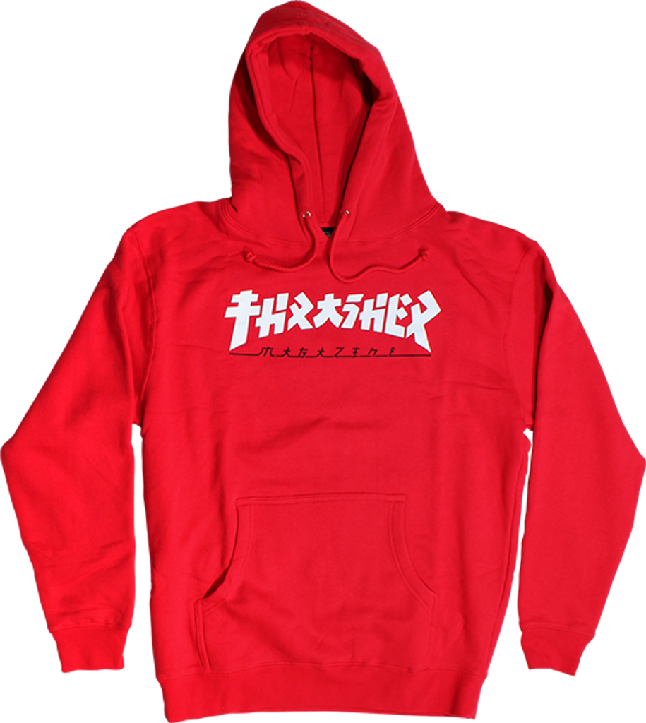 7725b371e270 Thrasher Godzilla Skate Mag Logo Pullover Hooded Sweatshirt