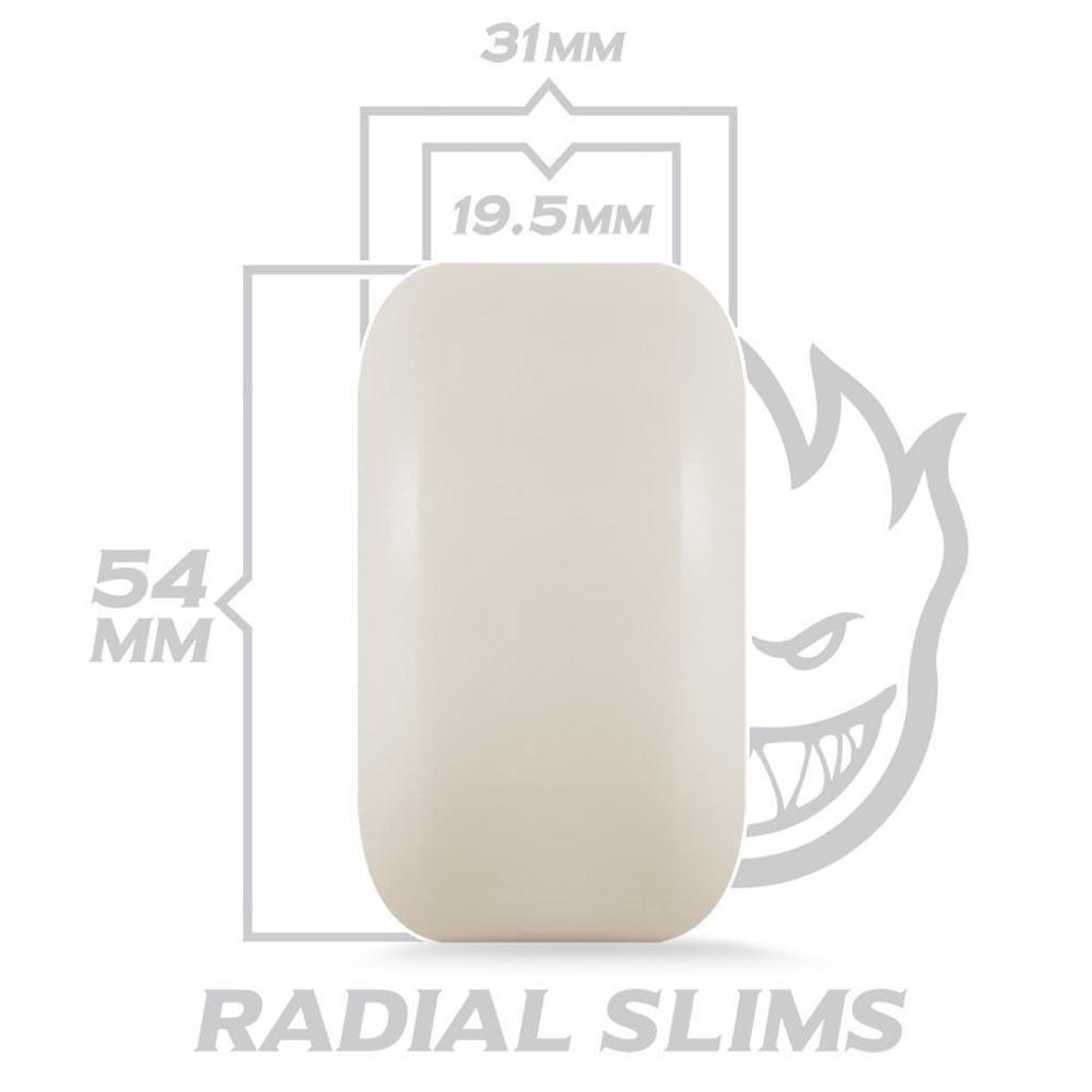 SPITFIRE Formula Four Venomous Radial Slims 101D 54MM (Set of 4)
