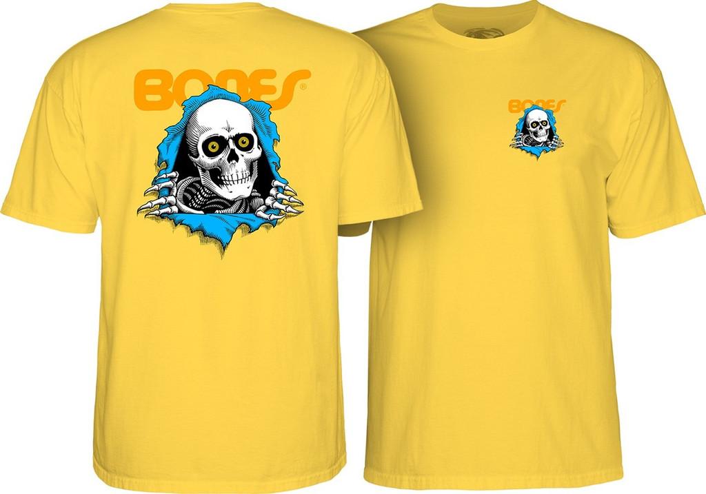 Powell Peralta Old School Ripper T-Shirt Yellow