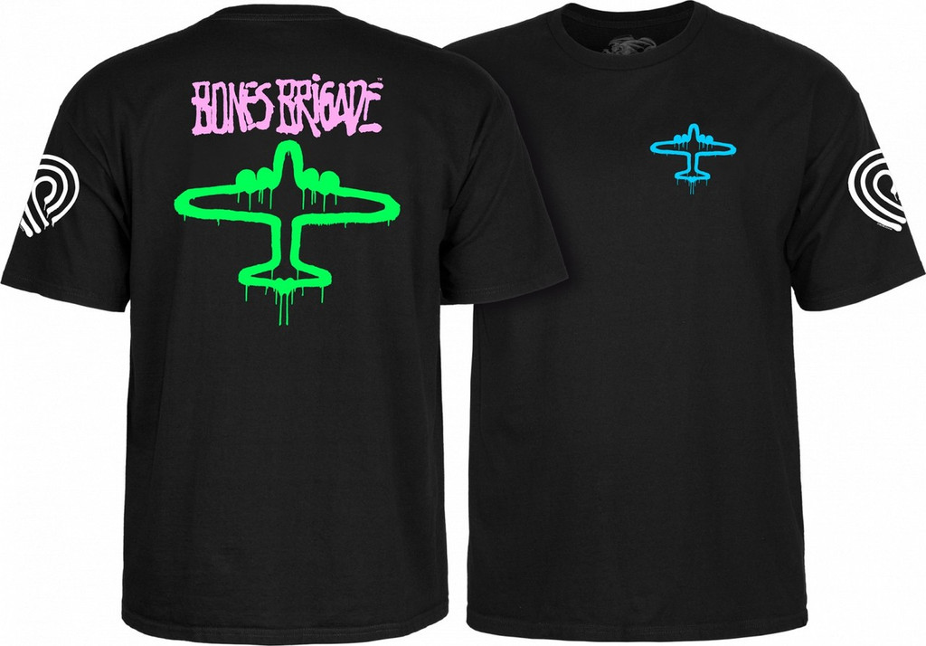 Powell Peralta Bones Brigade OG Bomber T-Shirt