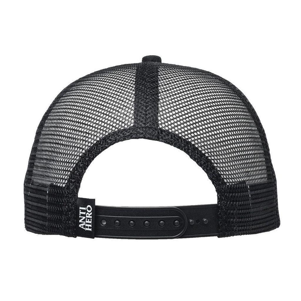 d7849d77518f6 Antihero Skateboards Eagle Embroidered Snapback Trucker Hat Black