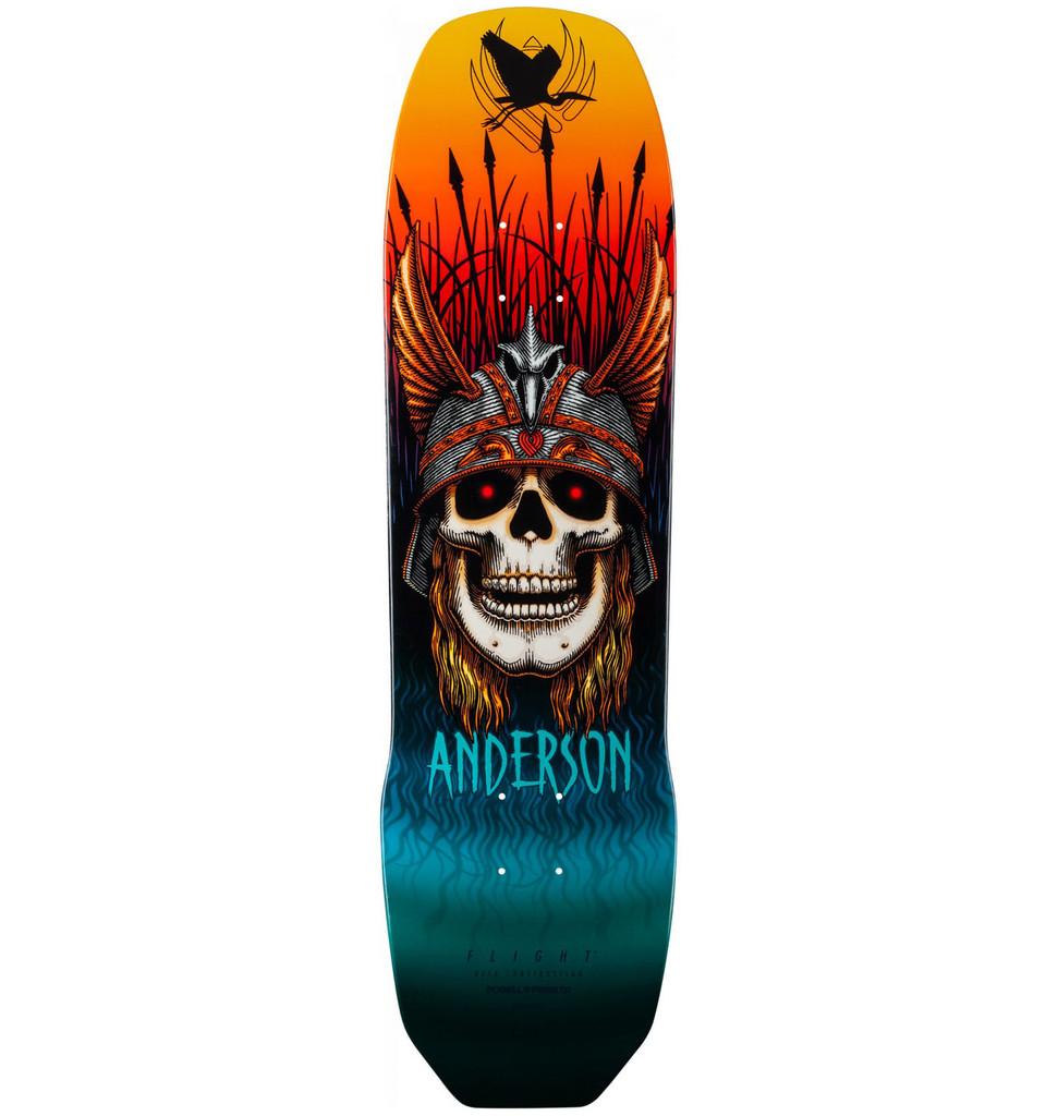 "Andy Anderson Heron Skull Flight Deck 8.45"" x 31.8"""