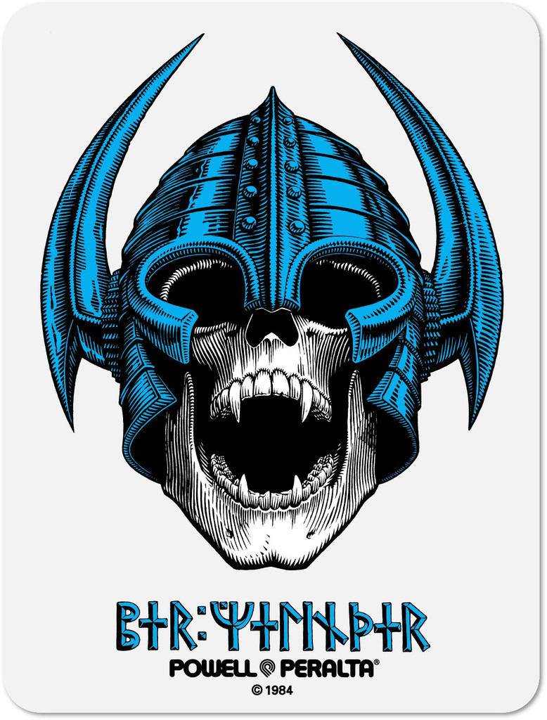 Per Welinder Nordic Skull Old School Reissue Sticker