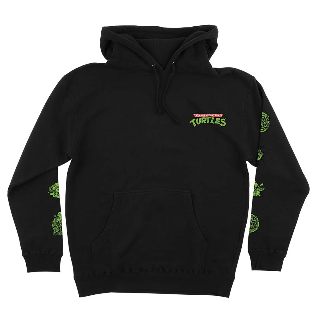 Santa Cruz Teenage Mutant Ninja Turtles Mutagen Pullover Sweatshirt (Black)