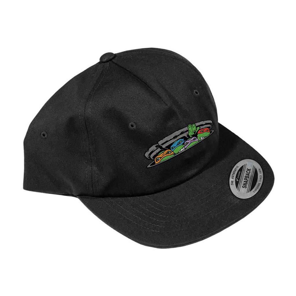 Santa Cruz Teenage Mutant Ninja Turtle Unstructured Mid Profile Hat