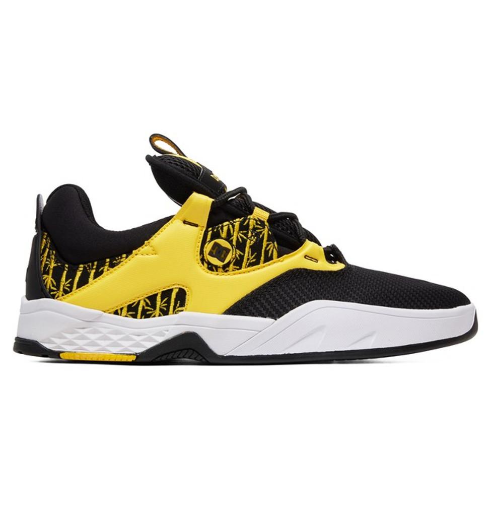 DC Shoes Kalis S TX SE (Black/Yellow) FREE USA SHIPPING