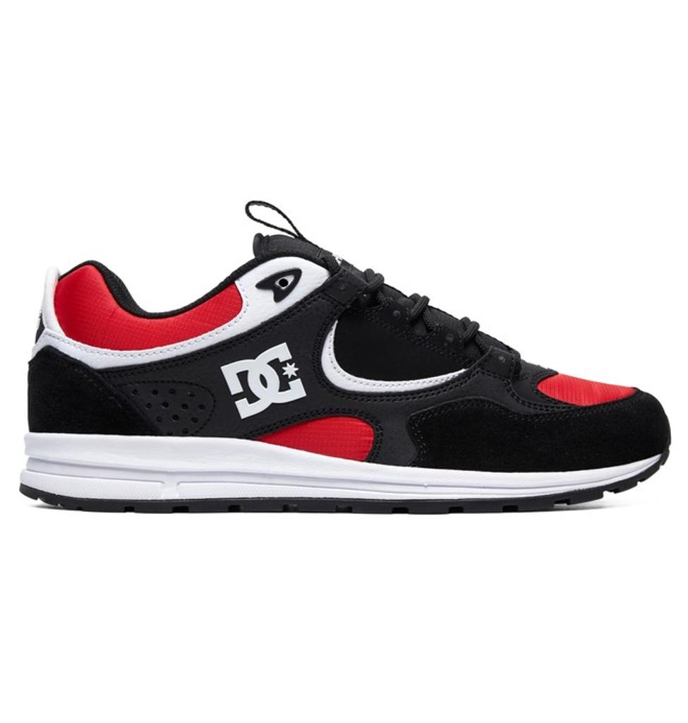 DC Shoes Kalis Lite (Black/Athletic Red/White) FREE USA SHIPPING