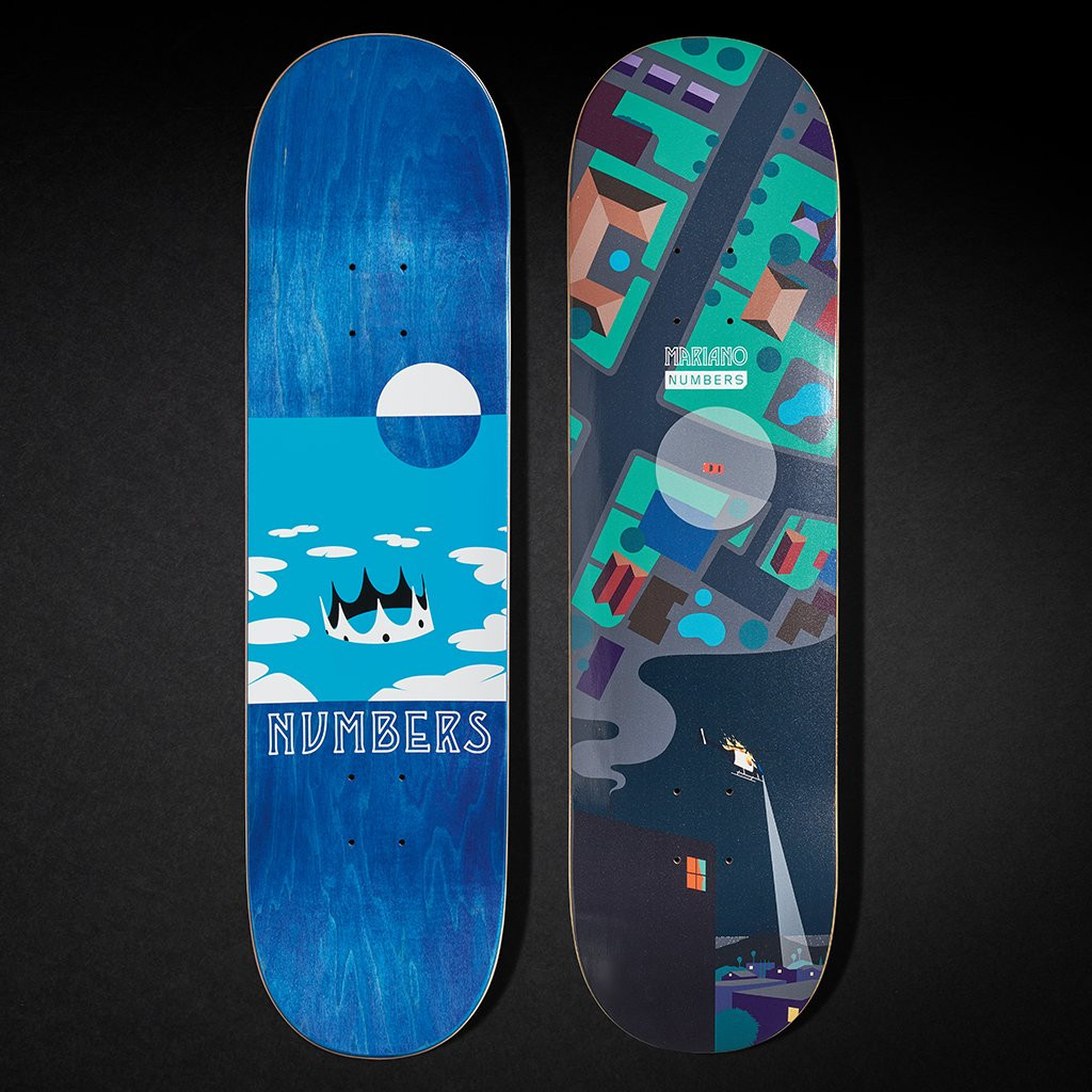 """Numbers Mariano Edition 6 Deck 8.4"""""""