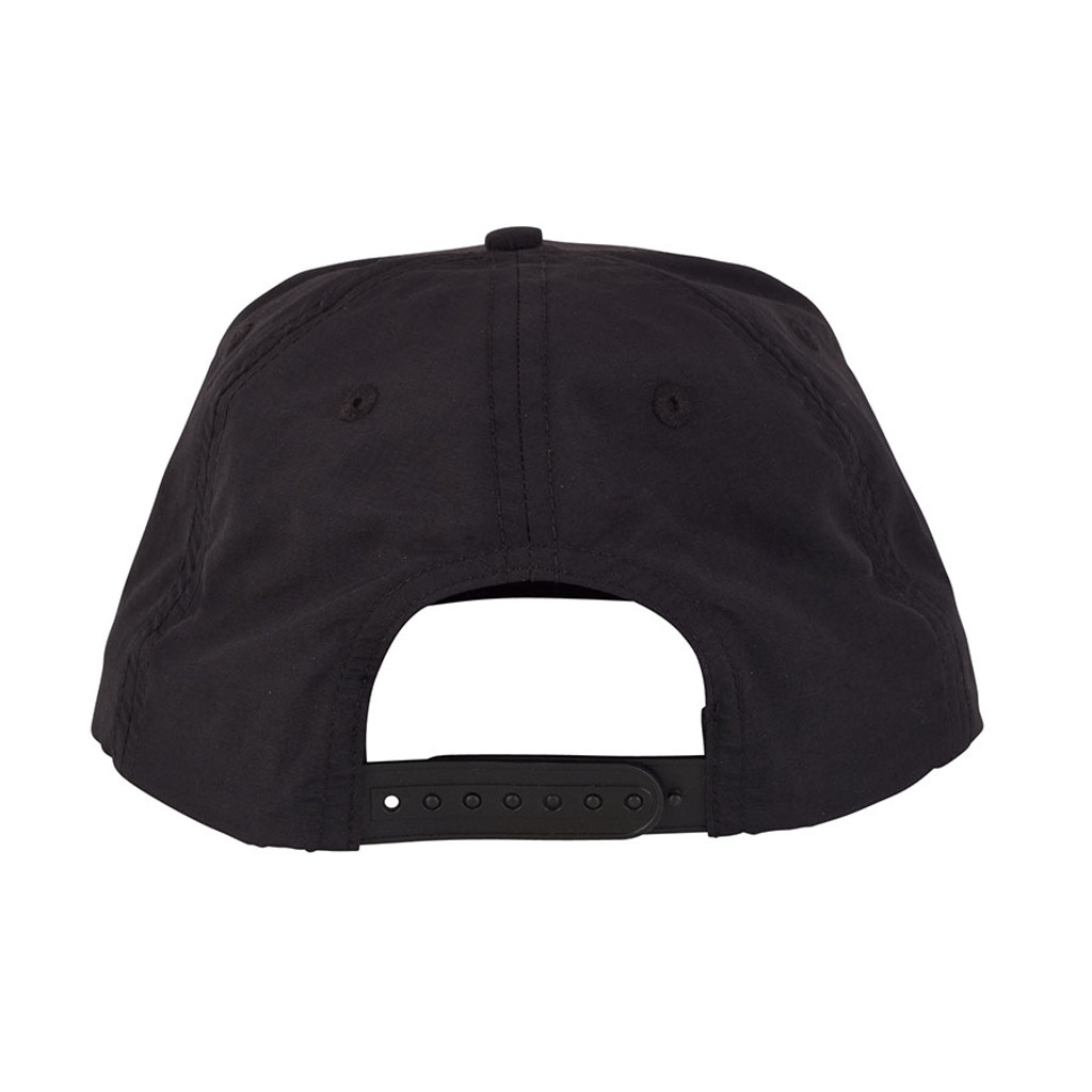 Santa Cruz Classic Dot Snapback Mid Profile Hat (Black)