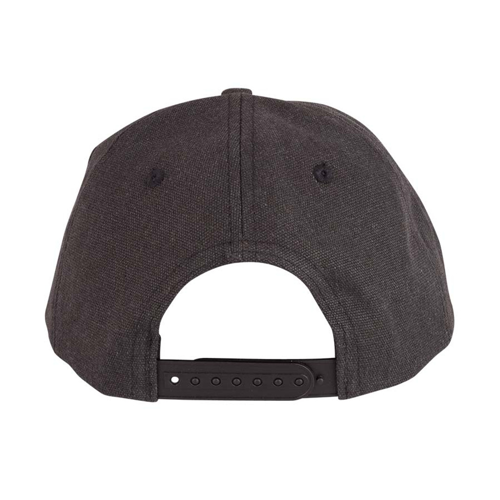 Independent Red White Cross  High Profile Snapback Hat (Black)