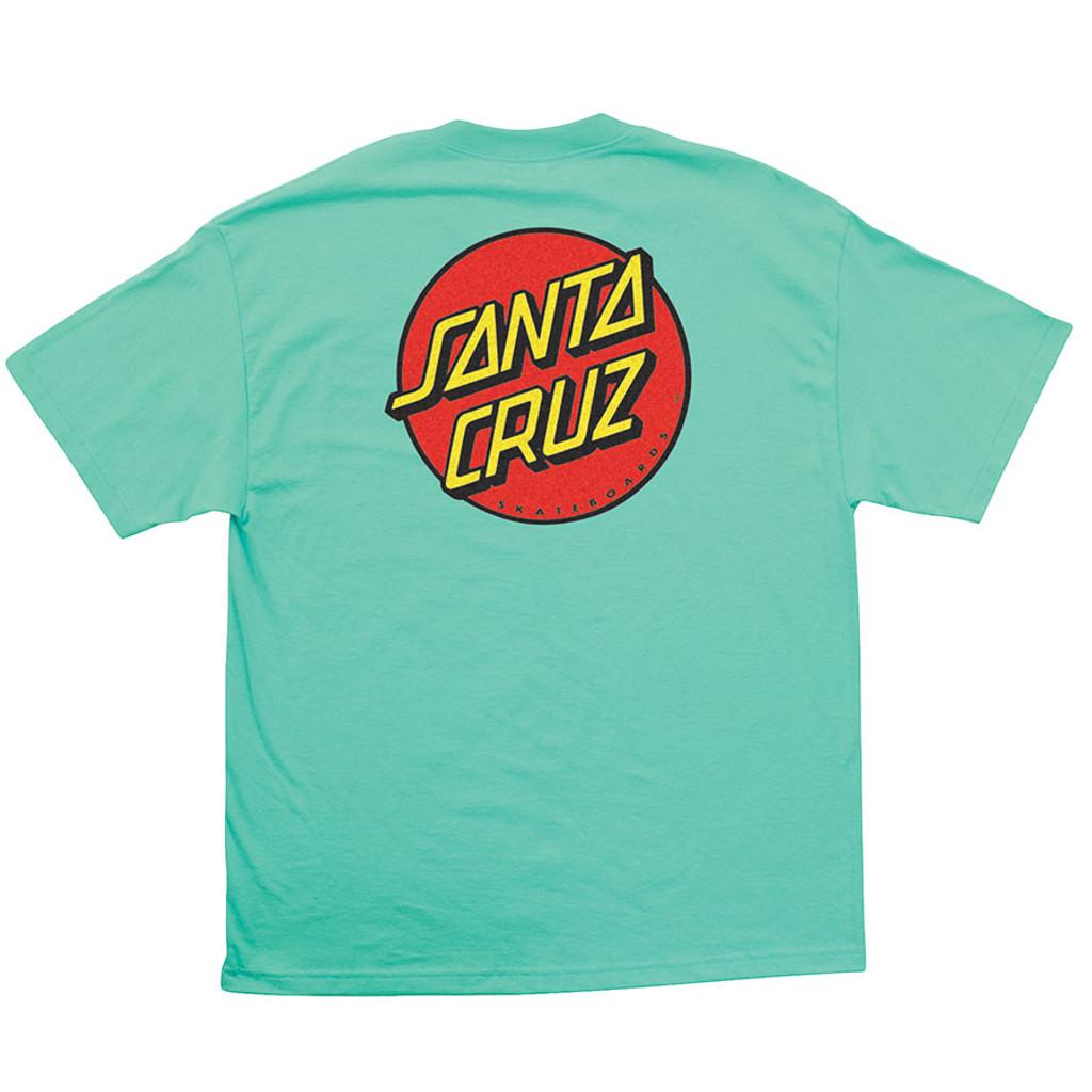 Santa Cruz Classic Dot T-Shirt (Available in 8 Colors)