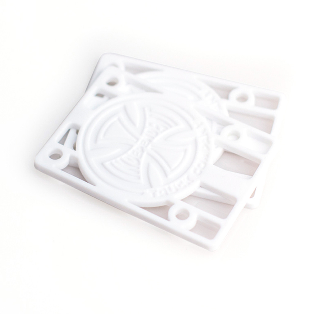"Independent Riser Pads 1/8"" (White)"