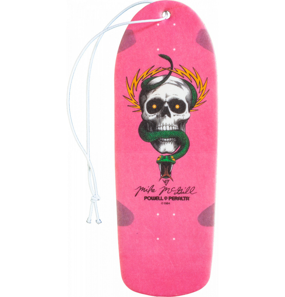 Powell Peralta McGill Skull & Snake Deck Air Freshener Cherry