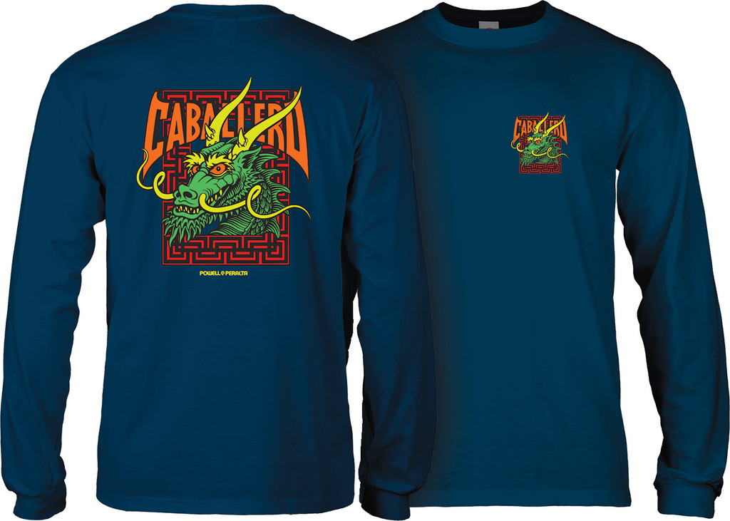 Powell Peralta Caballero Street Long Sleeve Shirt (Available in 3 Colors)