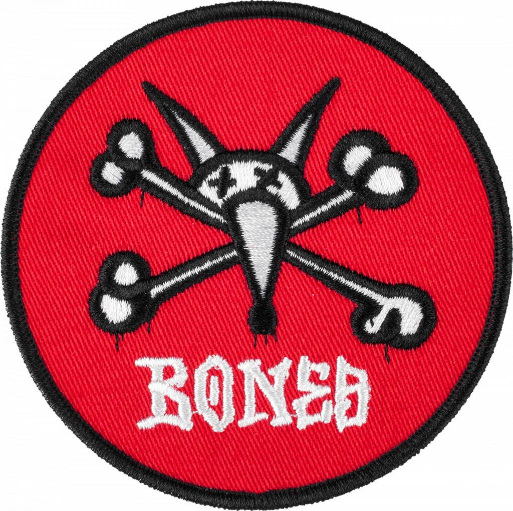 Powell Peralta Bones Vato Rat Patch (Red)