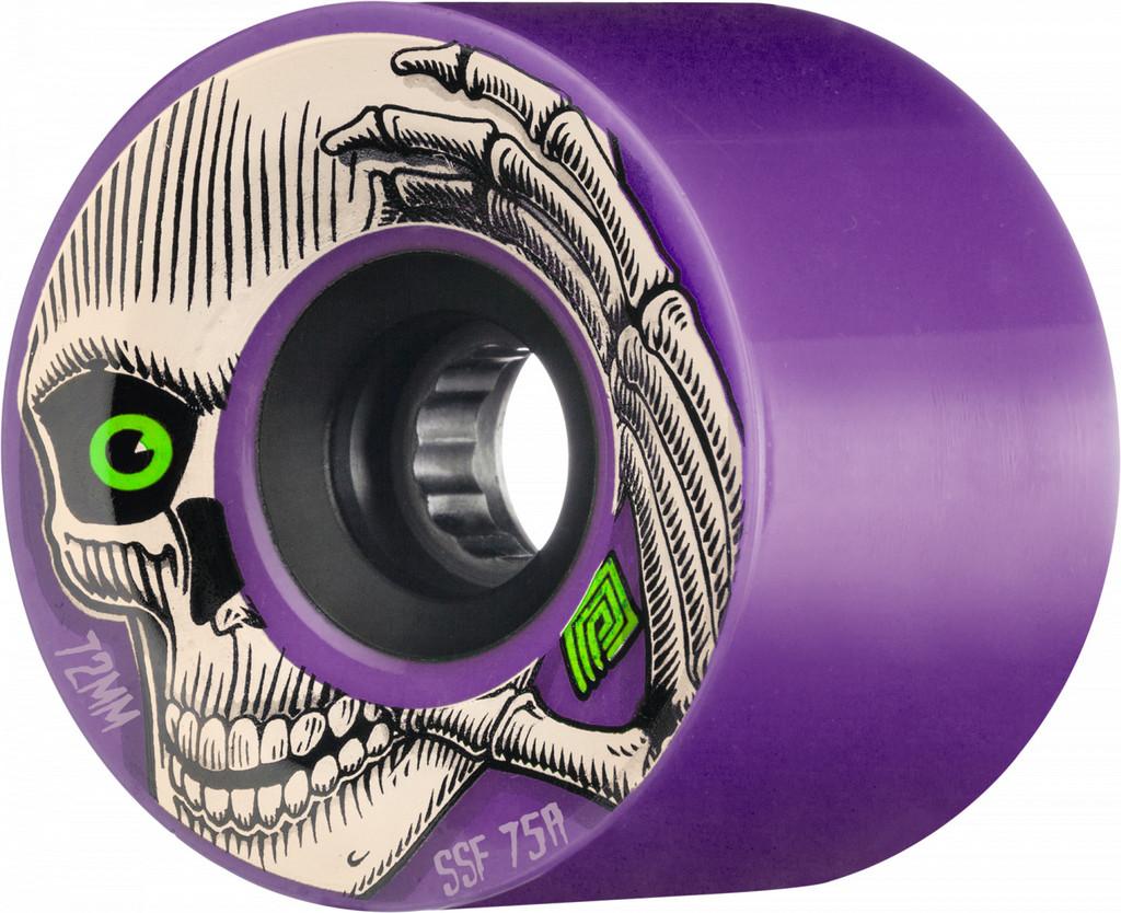 Powell Peralta Kevin Reimer Wheels 72mm 75A (Purple)