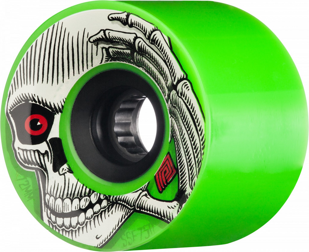 Powell Peralta Kevin Reimer Wheels 72mm 75A (Green)