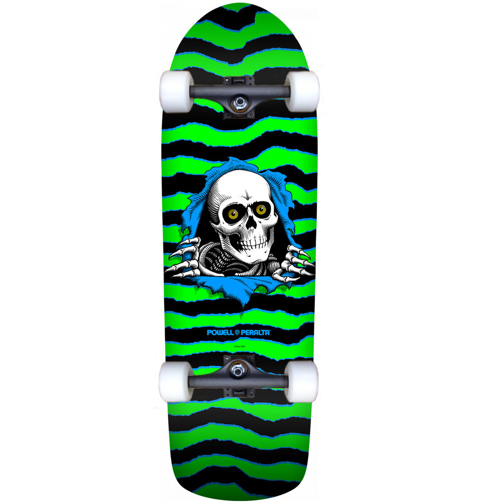 """Powell Peralta Old School Ripper Reissue Complete Lime 10"""" X 31.75"""""""