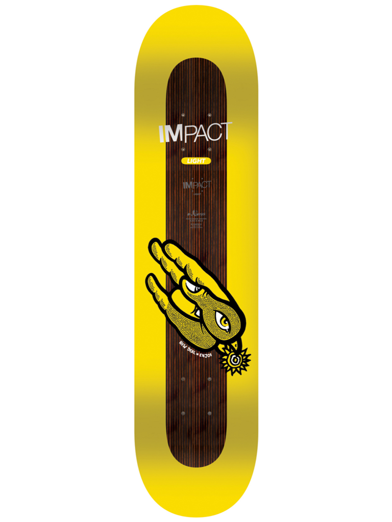 Enjoi What's The Deal Impact Light - Nestor Judkins Collab Deck