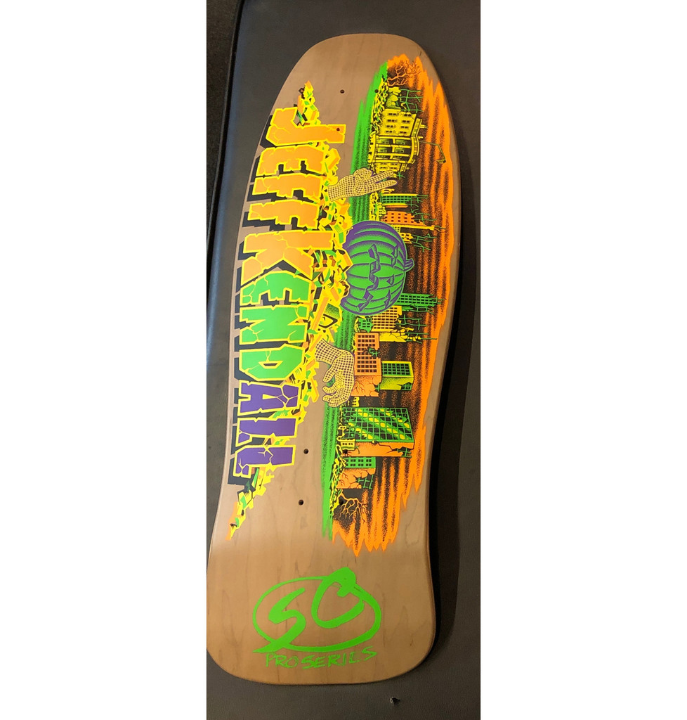 **Pre-Order** Santa Cruz Old School Kendall Pumpkin Reissue Deck