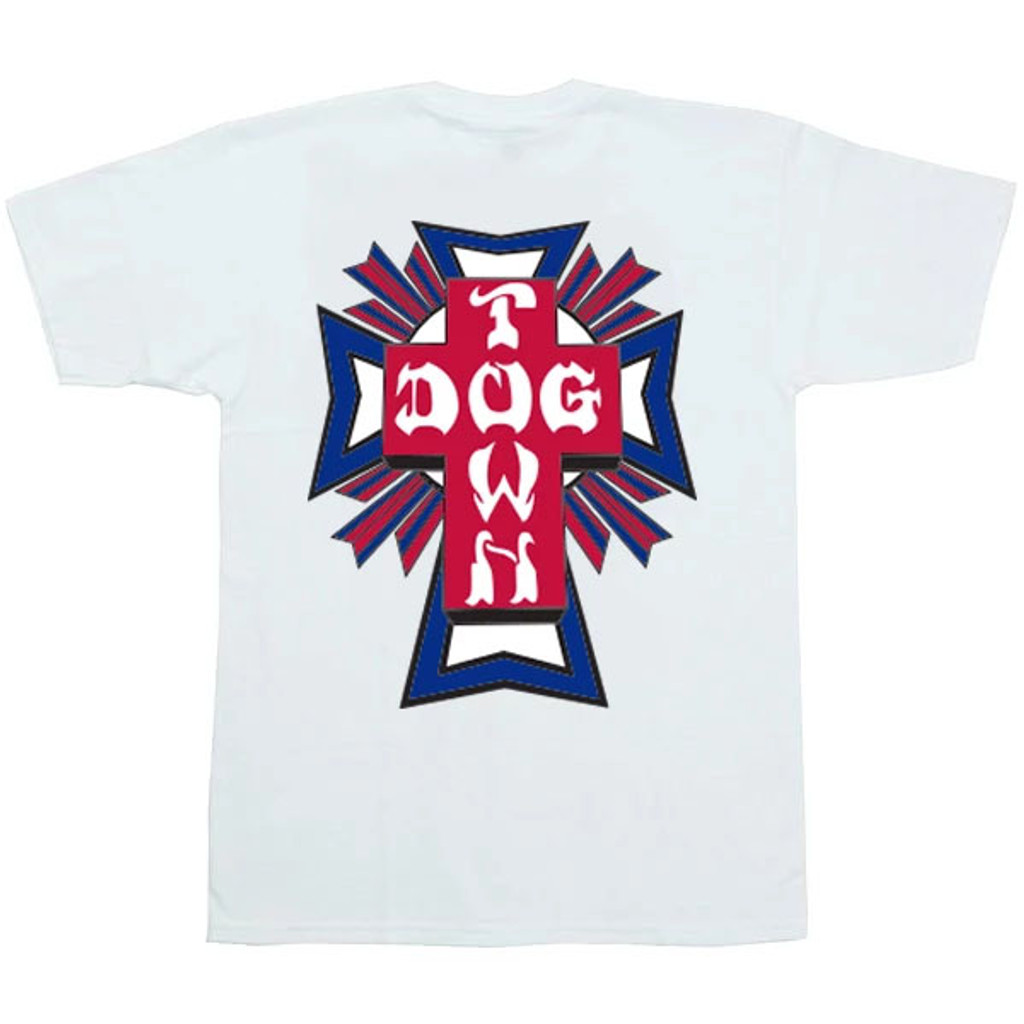 Dogtown Skates Cross Logo USA T-Shirt (Available in 2 Colors)