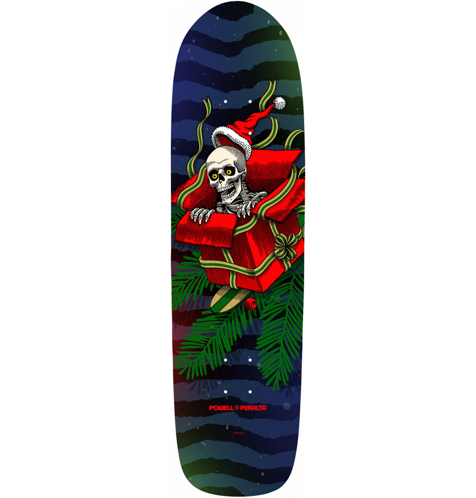 Powell Peralta Holiday Gift Box Skateboard Deck 2019 - 9 x 33.25