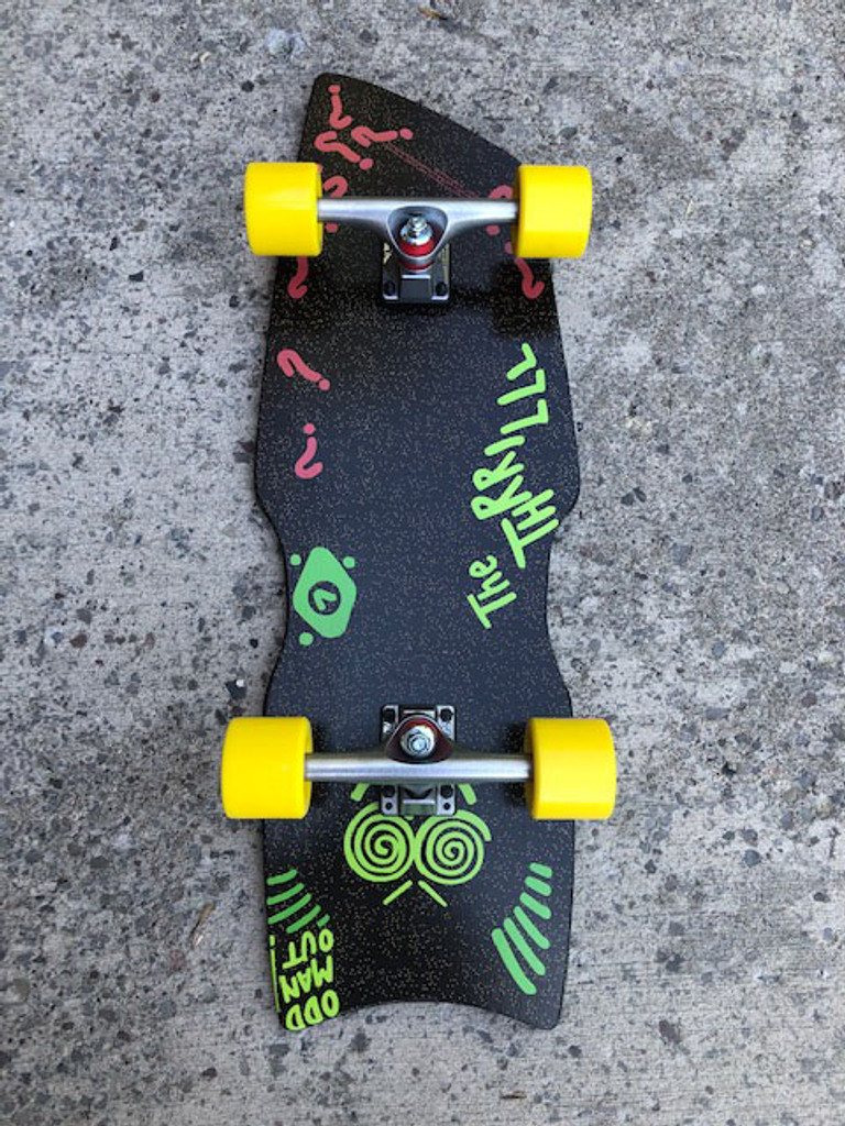 """Madrid Back to The Future II """"Thriller Hoverboard"""" Complete"""