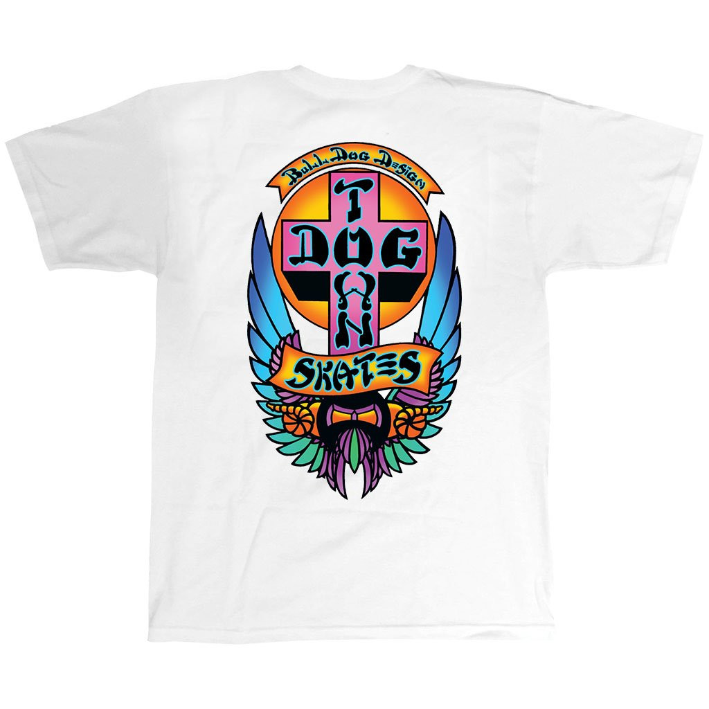 Dogtown Bulldog Limited Colorway T-Shirt (White)