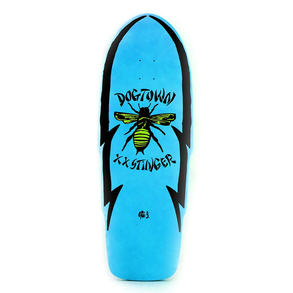 "Dogtown 'O' XX Stinger Deck 11.25"" x 32"" (Blue)"