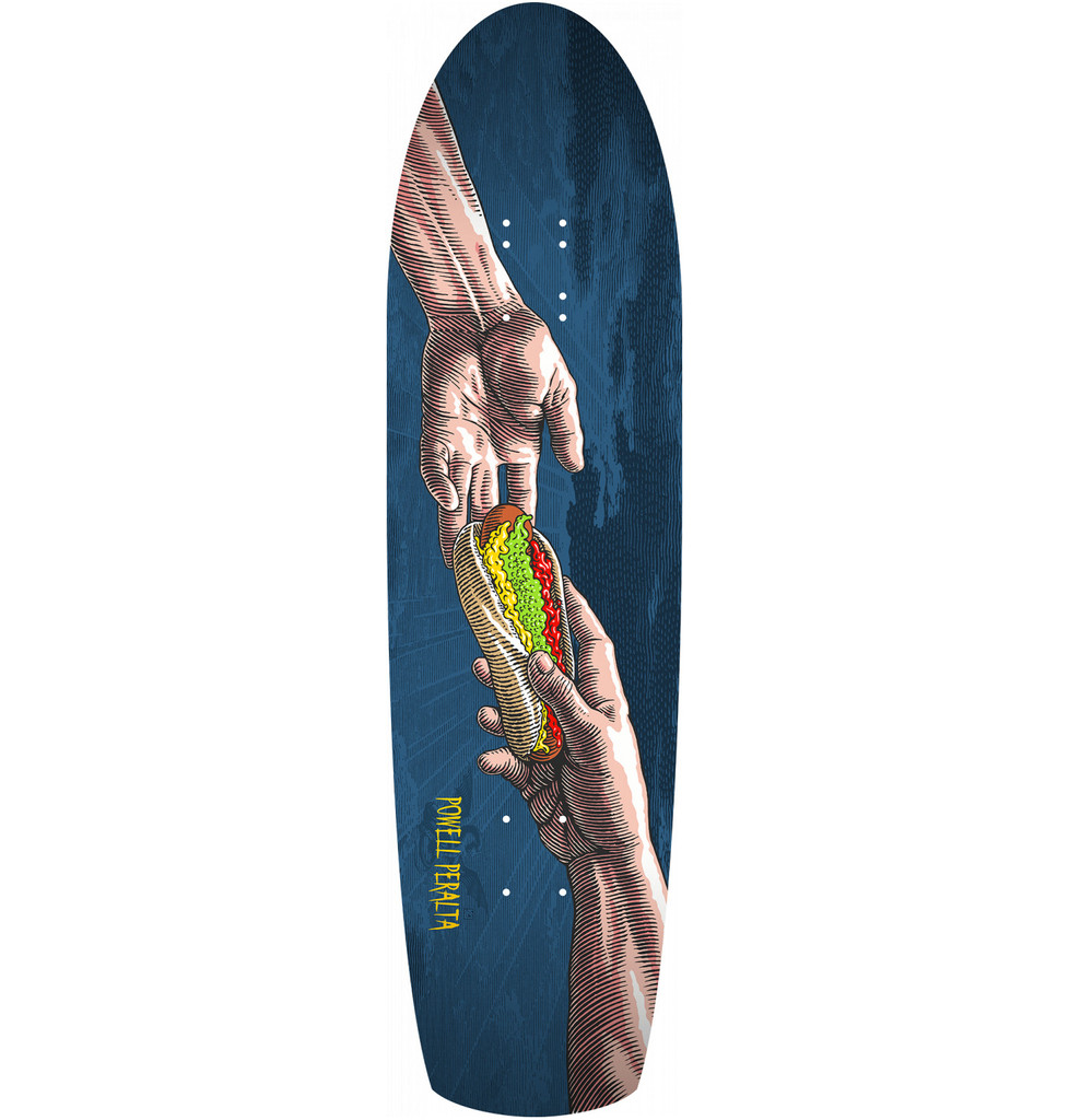 "Powell Peralta Hands Fun Shape Deck 8.4"" x 31.5"""