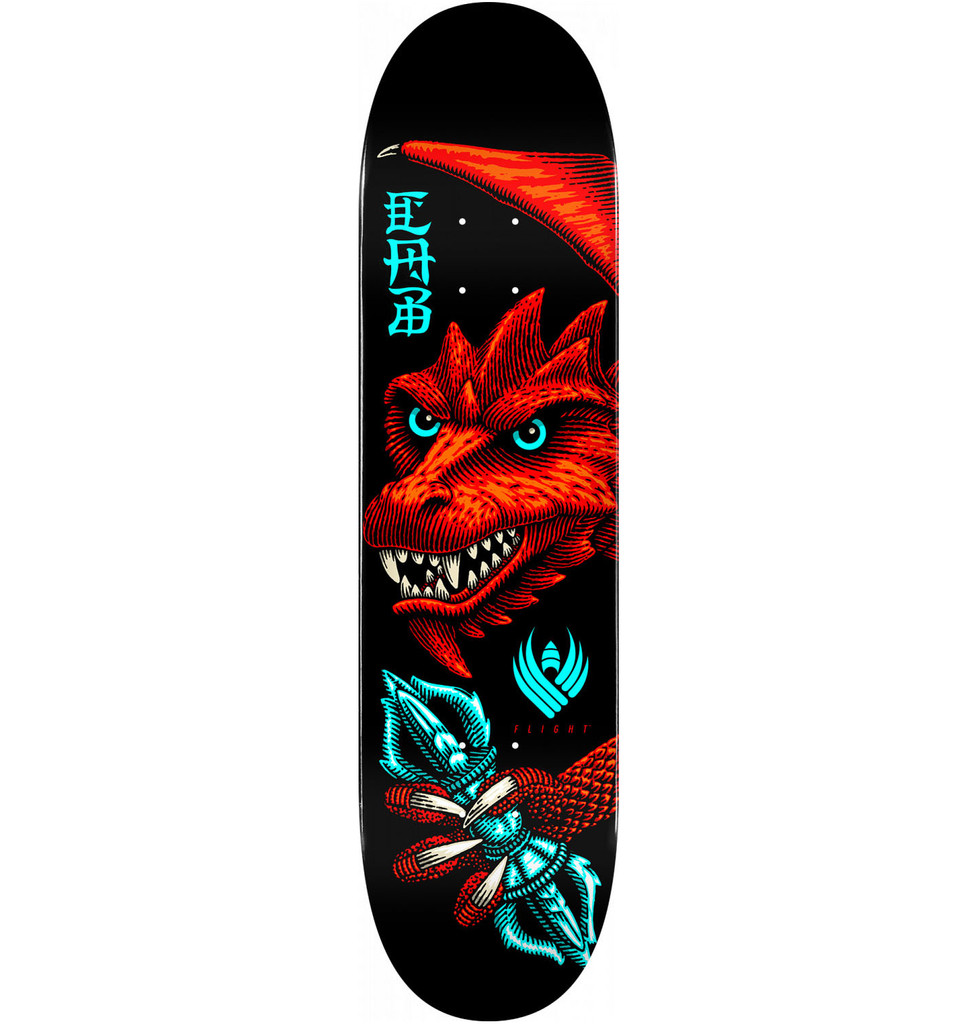 "Powell Peralta Caballero Dragon Wing Flight Deck 8.25"" x 31.95"""