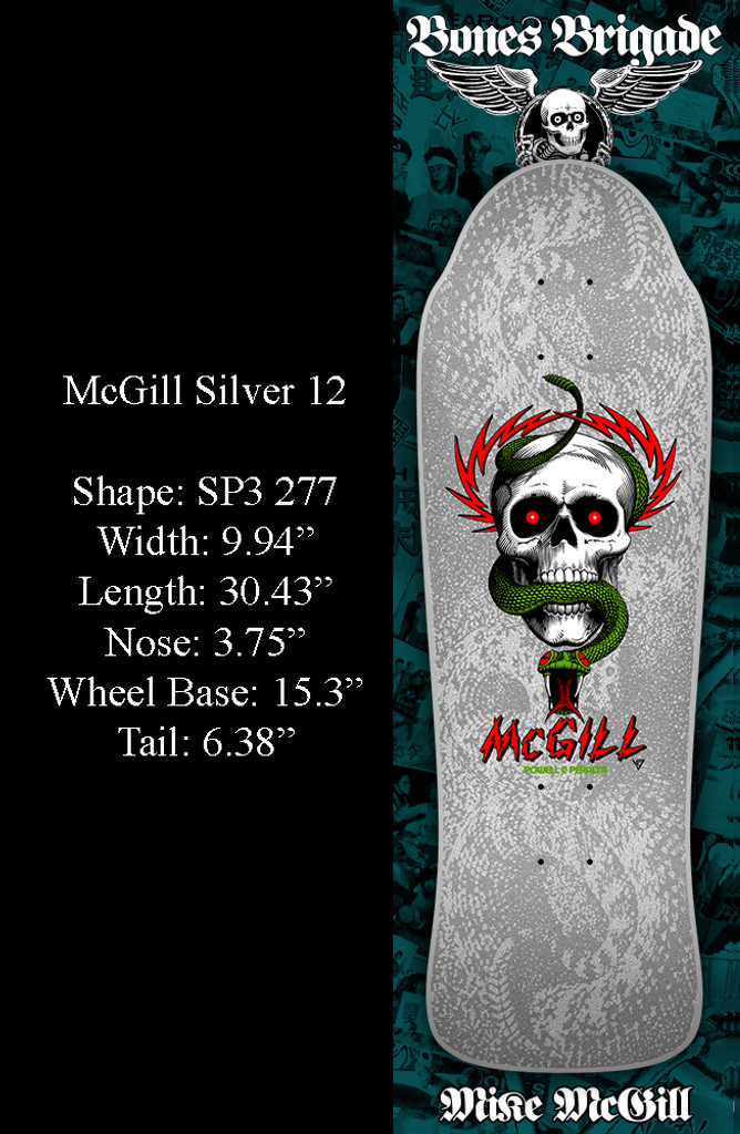 **Pre-Order** Powell Peralta Bones Brigade 12th Series McGill Old School Reissue Deck