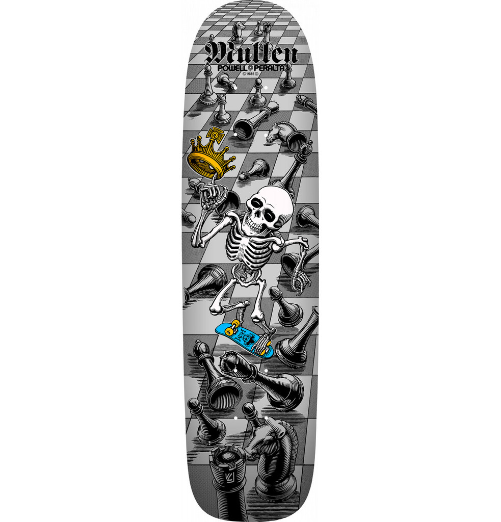 SOLD OUT **Pre-Order** Powell Peralta Bones Brigade 12th Series Mullen Old School Reissue Deck