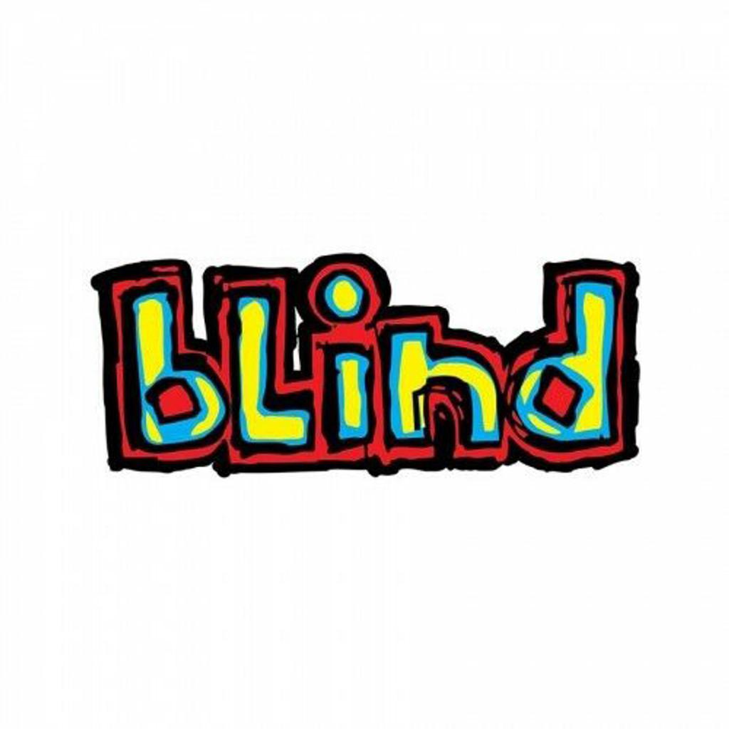 """Blind """"OG"""" Logo Sticker"""