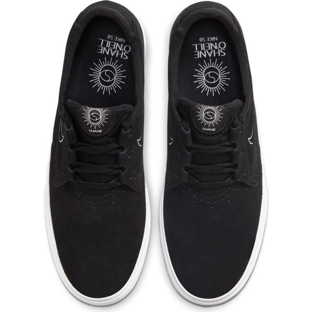 Nike SB Shane (Black/White) FREE USA SHIPPING