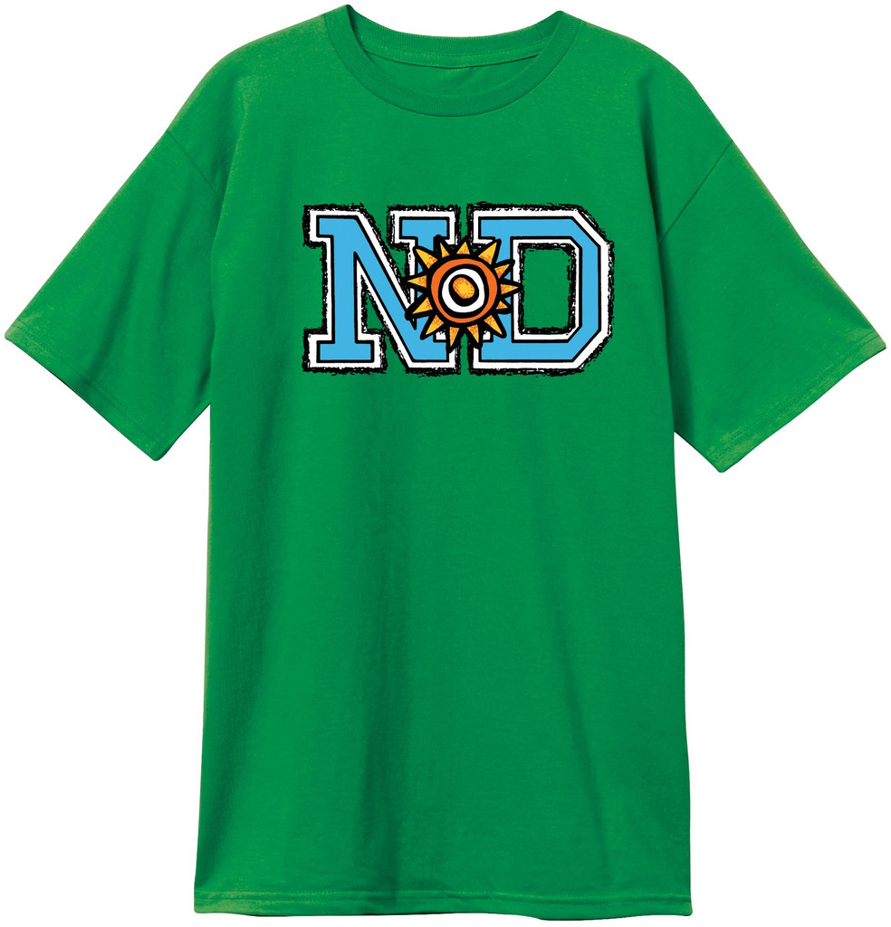 **Pre-Order** New Deal ND Logo T-Shirt (Available in 4 Colors)