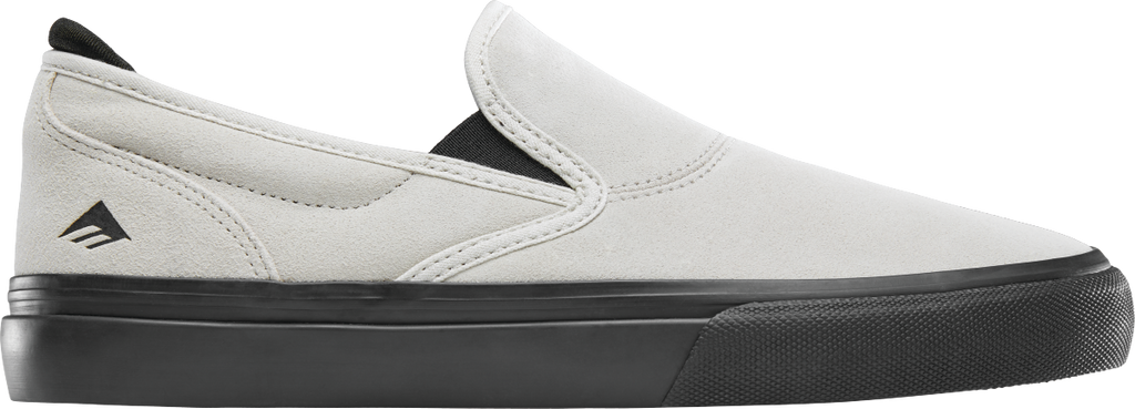 Emerica WINO G6 SLIP ON (White/Black) FREE USA SHIPPING