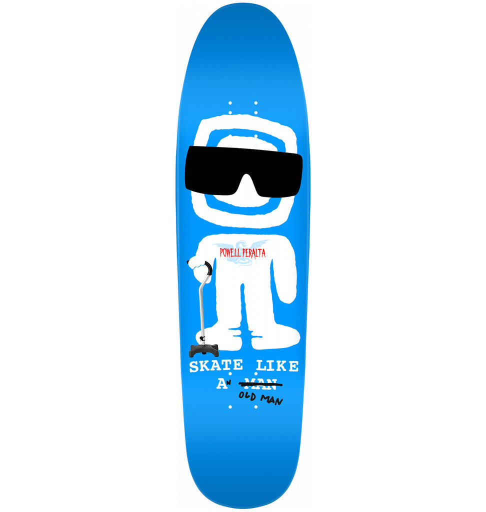 "Powell Peralta SLAOM Fun Shape Deck 8.4"" x 31.5"""