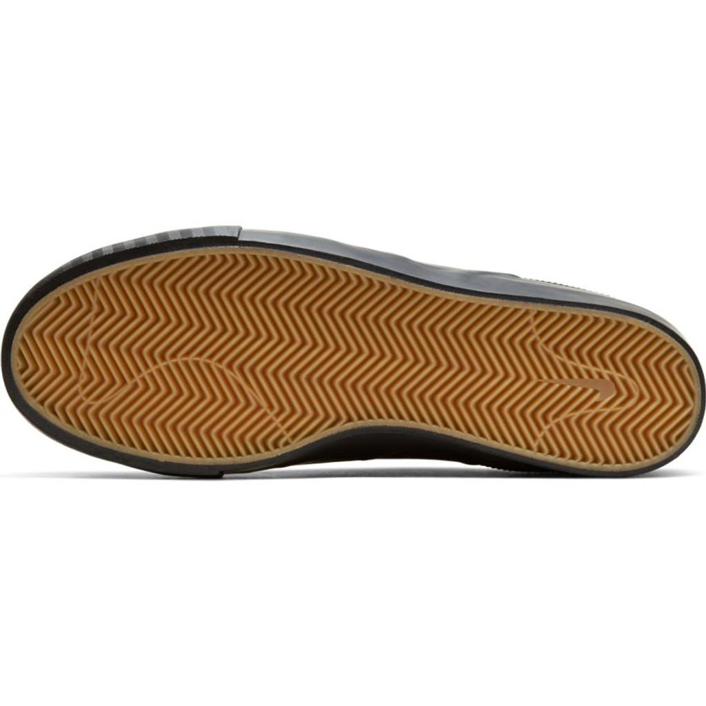 Nike SB Zoom Janoski Slip RM ISO Shoes (BLACK/BLACK-BLACK-GUM LIGHT BROWN) FREE USA SHIPPING
