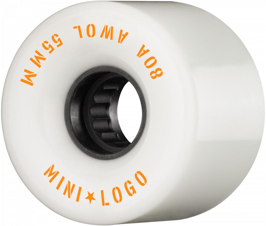 Mini Logo AWOL Wheels 55mm/80a White (Set of 4)