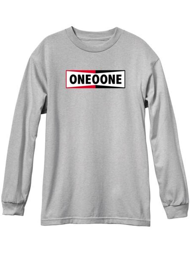 101 Heritage Spark Logo Long Sleeve Shirt (Athletic Heather)