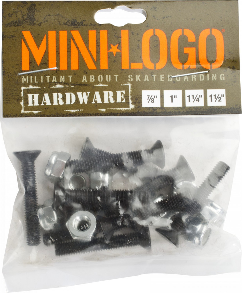"Mini Logo Hardware Phillips 1.25"" (Set of 8)"