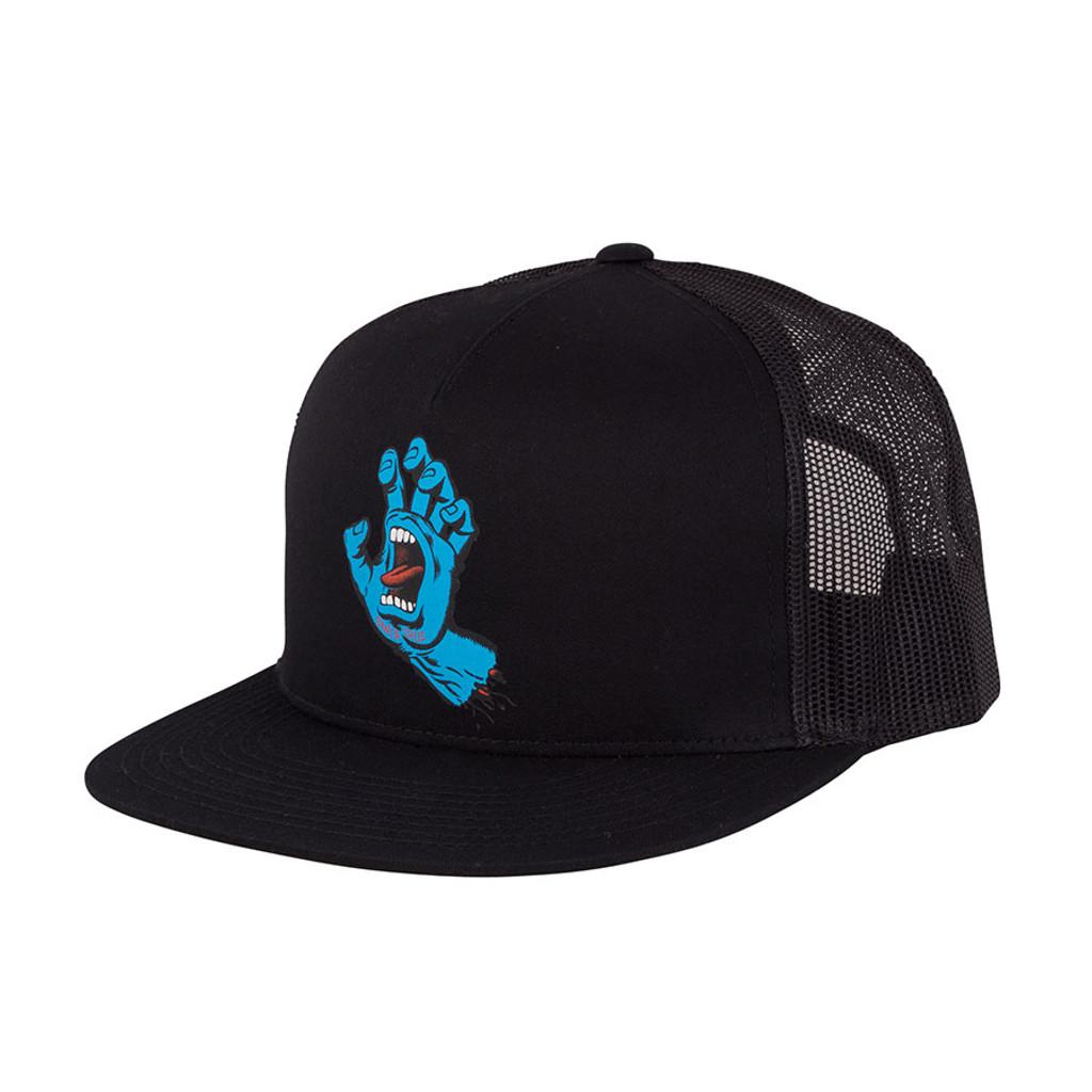 Santa Cruz Screaming Hand Mesh Trucker Hat (Black)