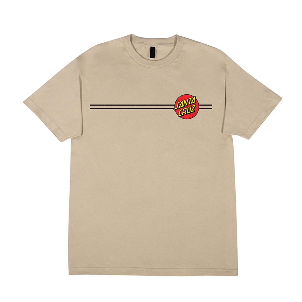 Santa Cruz Classic Dot T-Shirt (Sand)