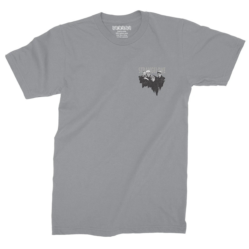 StrangeLove Consume T-Shirt (Charcoal Heather)
