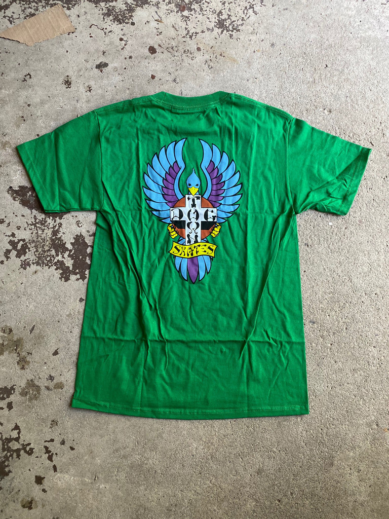 Dogtown Skates Big Foot T-Shirt (Kelly Green)