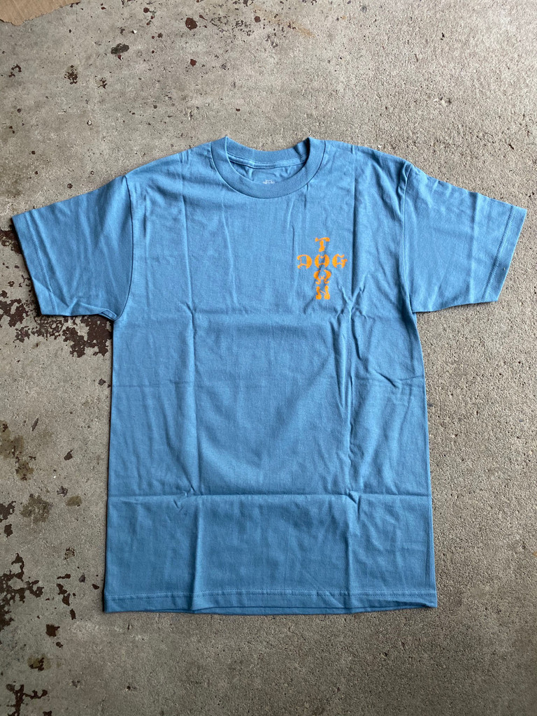 Dogtown Skates Red Dog T-Shirt (Slate Blue)