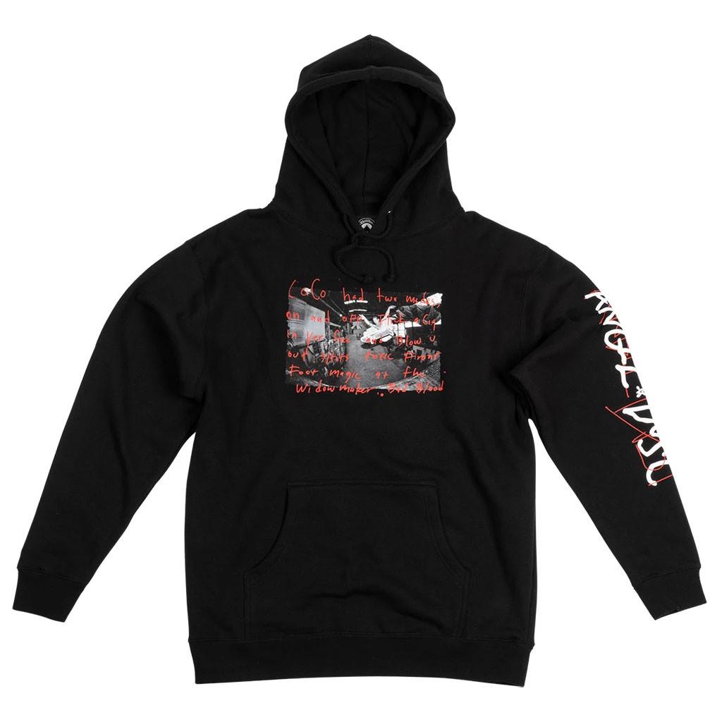 Thrasher Angel Dust Coco Hooded Sweatshirt (Black)