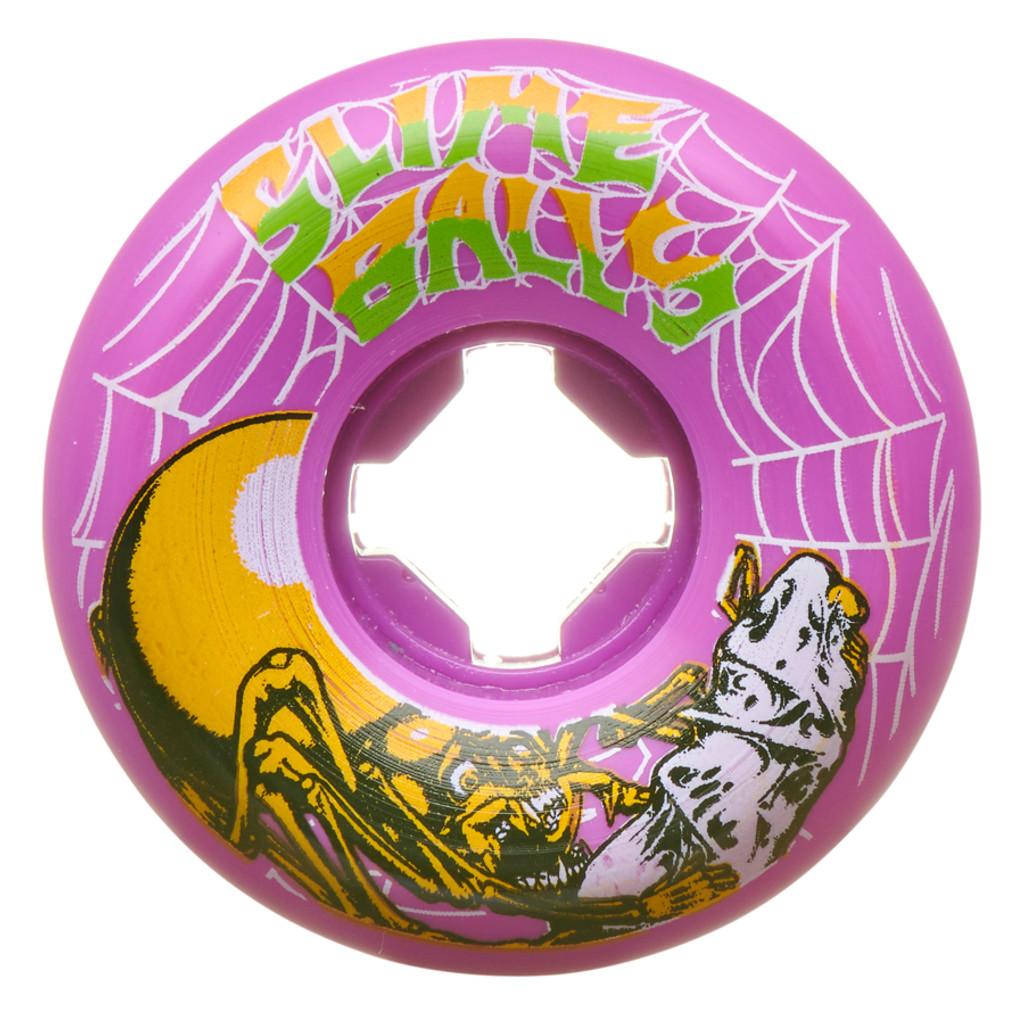 Santa Cruz Slime Balls Slime Web Speed Balls Wheels 54mm/99a (Set of 4)